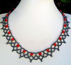 Patrón Gratis para collar de cuentas Сranberry | Magic Beads