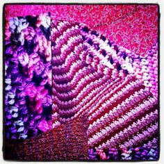 #Crochet magazine images texture collage art