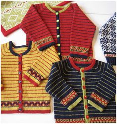 Traditional Swedish Patterns for Knitting by Karin Kahnlund ~ a beautiful balance of colour and design! Traditional Swedish Patterns for Knitting by Karin Kahnlund ~ a beautiful balance of colour and design! Knitting Books, Knitting For Kids, Baby Knitting Patterns, Baby Patterns, Knitting Projects, Easy Knitting, Pull Jacquard, Fair Isle Knitting, Baby Cardigan