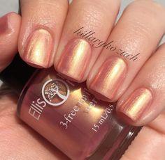 Rose Gold Nail Polish - cruelty free, 3-free Nail Lacquer - 0.5 oz Full Sized Bottle - Nails, Nail Designs, Nail Art - Secret Love by EllisonsOrganics on Etsy https://www.etsy.com/listing/242966830/rose-gold-nail-polish-cruelty-free-3