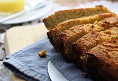 Gluten Free Banana, Gluten Free Diet, Gluten Free Recipes, Baking Recipes, Bread Recipes, Healthy Recipes, Paleo Zucchini Bread, Lemon Loaf, Lemon Bread