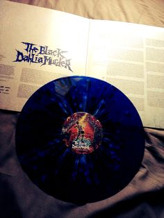 The Black Dahlia Murder - Deflorate - Deep Blue Splatter