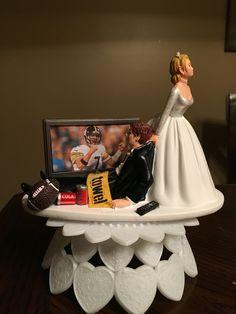 Steelers Cake Topper Wedding