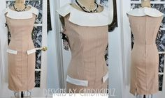 1950s Style 'Joan' Custom Made Stretch by DESIGNSByCandiigirlz, $195.00