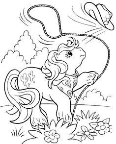 Dibujos para Colorear Mi pequeño Pony 19