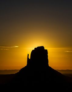 Sunrise Monument Valley, Utah - nature is beautiful - come backpack through it with us in CA http://SierraSpirit.biz/