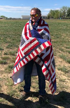 Flag Quilt, Quilt Of Valor, Vietnam Veterans, Plaid Scarf, Mystery, Quilts, Sewing, Awesome, Crafts