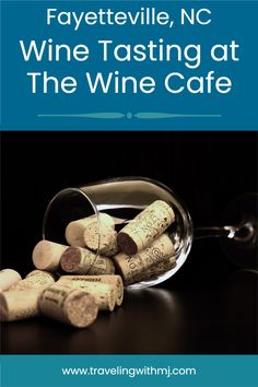The Wine Cafe is located  in historic downtown Fayetteville, North Carolina. Stop off to try something new.#wine #northcarolina