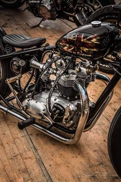 Dissident Subversive — txgunnersmate: Kinda cool with the Morris mag Triumph Bobber, Triumph Chopper, Bobber Bikes, Bobber Motorcycle, Bobber Chopper, Motorcycle Design, Triumph Motorcycles, British Motorcycles, Cool Motorcycles