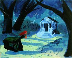 """Cinderella"" by Mary Blair"