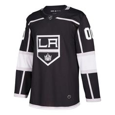 3433dbe1 Los Angeles Kings adidas Authentic Custom Jersey – Black Kings Home, Los  Angeles Kings,