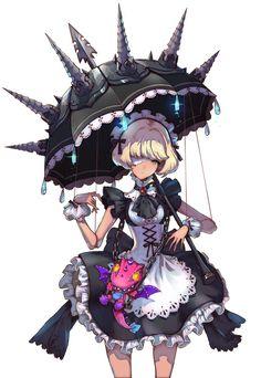 Арт, шипастый зонт                                                                                                                                                                                 More