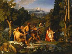 Latona And The Lycian Peasants  Joshua Cristall