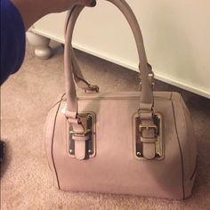 Cute tan purse!! Reposing because it says it sold when it didn't!! Charming Charlie Bags