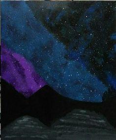 Lukisan galaxy