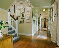 hallway stripped pine - Google Search