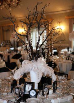 Centerpiece -- wedding reception