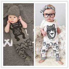 Купить товарЛето стиль детская одежда комплекты одежды для новорожденных мальчик хлопок маленькие монстры короткий рукав 2 шт. мальчик одежда в категории Комплекты одеждына AliExpress.    Retail 2015 100%cotton baby boy roupas de bebe  Critical gentleman bow long sleeve  baby boy clothesUSD 7.50-8.90/pie