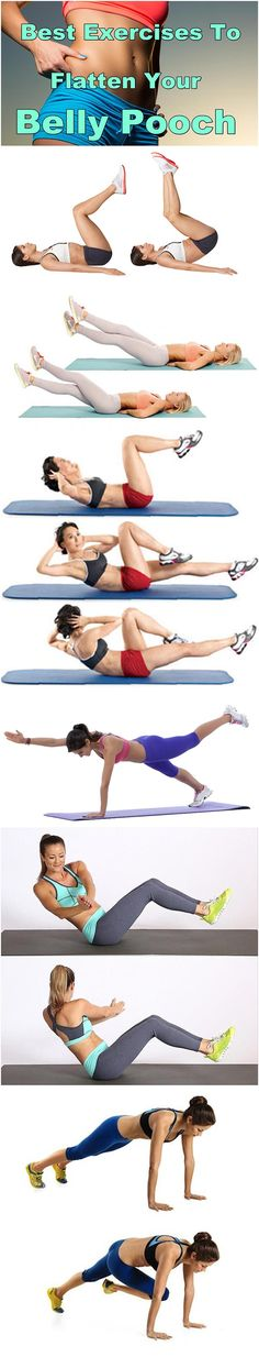 Best Exercises To Flatten Your Belly Pooch