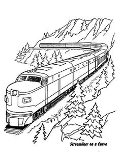 Coloring Pages Of Trains Train Coloring Pages Coloring Book Pages ...