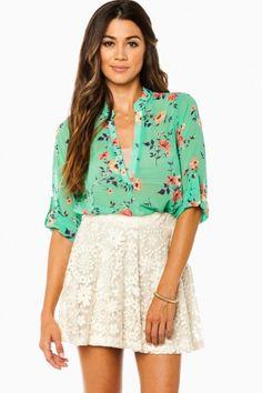 Daisy Lace Skirt