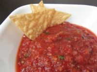 Chevy's salsa copycat recipe. Had this two weeks ago at Sam and Katie's and I need to make it soon!
