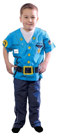 Aeromax My 1st Career Gear Police Ages 3-5 · Funny HalloweenToddler Halloween CostumesPolice CostumesPolice Officer ...  sc 1 st  Pinterest & Police Tabard | sewing projects | Pinterest | Fancy dress costume ...