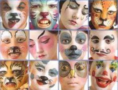 Carneval makeups for children