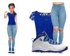"""Drip On Mii Walk"" by mykira ❤ liked on Polyvore featuring Jacques Vert and NIKE"