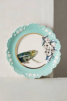 PLATE TO HANG ON THE WALL IN A GROUPING Nature Table Dessert Plate - anthropologie.com