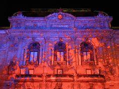 """#Lyon, Fête des Lumières 2012 """"#Lumières Archipicturales"""", Laurent Langlois / Production : Artslide / Spectaculaires, Théâtre des Célestins - 06.12.12"""