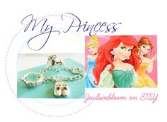 """""""My Princess Cham Bracelet"""" by jewlsinbloom ❤ liked on Polyvore featuring Disney"""
