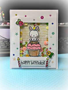 Using: Stamps and dies: Carnival Cupcakes & Carnival Toppers from Mama elephant   Handmade by Jodie Hui ~Oct 2014~