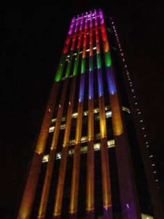 Torre Colpatria  Si tu #DestinoFavorito es #Bogota visitanos en www.easyfly.com.co/Vuelos/Tiquetes/vuelos-desde-bogota