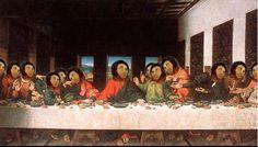 Last Supper Restoration Parody