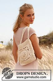 Ravelry: 146-13 Jude - Bag with plaited shoulder strap in Paris pattern by DROPS design - free pattern