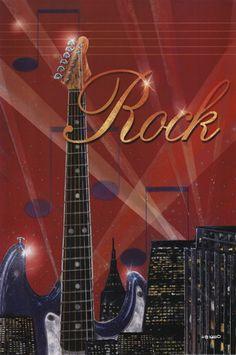 Rock by Ed Wargo art print