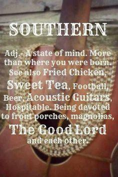 Thank God I'm Southern