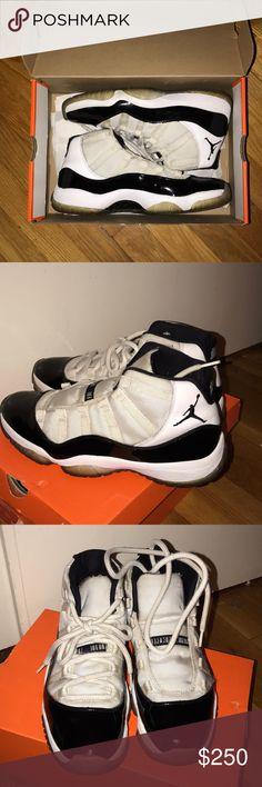 c3188b7ef37f 2011 Concord Jordan 11 No box 7 10 condition Jordan Shoes Sneakers Concord  Jordan