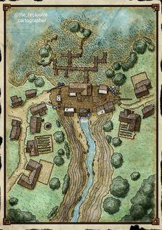 Fantasy City Map, Fantasy World Map, Fantasy Town, Fantasy Places, Medieval Fantasy, Fantasy Map Maker, Fantasy Dress, Dungeons And Dragons Homebrew, D&d Dungeons And Dragons