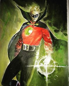 Alan Scott Green Lantern - Rod Reis