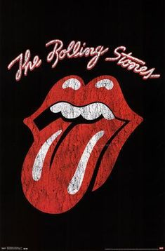 Trends International 34 Rolling Stones Classic Logo Unframed Wall Poster Print You are in the right place about Musical Band vintage Here we offer you the most beautiful Rolling Stones Logo, Rolling Stones Tattoo, Rock Chic, Glam Rock, Rock Bands, Rock Band Logos, Band Band, Rose T-shirt, Poster Wall