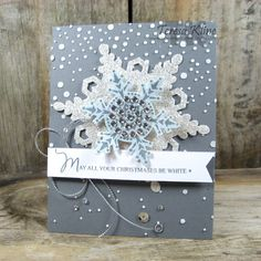 Gorgeous Snowflakes by va.sunshine - Cards and Paper Crafts at Splitcoaststampers