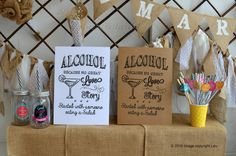 ALCOHOL Because No Great Story Vintage Mr&Mrs by inspiredcompany4u