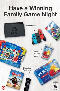 Shop family game night must-haves at Target. Game and system sold separately.