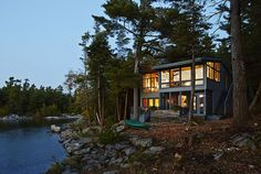 We are in 💚 with these amazing Canadian Cottages @hgtvcanada! Ready to take your cottage to the next level? Send us a message today! http://www.greatcanadianhomes.ca/photos/canadian-summer-cottages-1900808/?utm_content=buffer0a87f&utm_medium=social&utm_source=pinterest.com&utm_campaign=buffer#1 #cottage #luxury #design #lakeside #water #nature #modern #rustic