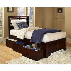 More big boy beds.   Twin Size Bed- Oxford Creek