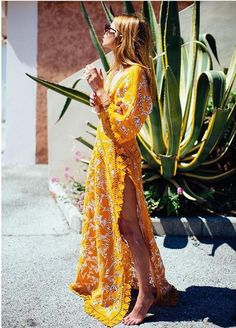 Share Tweet Pin Mail Blogger Maja Wyh styles this beautiful sierra caftan, Tory Burch dress so perfectly and she looks effortlessly cool. The vintage ...