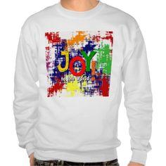Joy to the World! Basic Sweatshirt, White