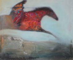 Ayusi - Painting, 54x65x2 cm ©2015 par Anne PATAY - Peinture